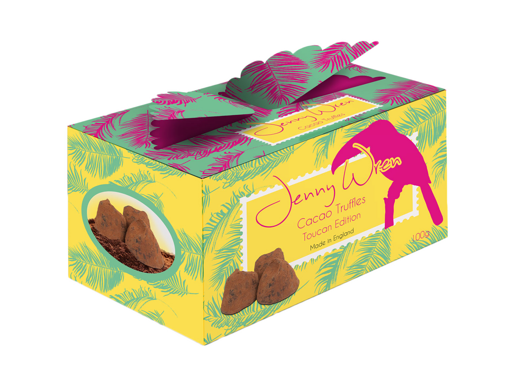 Cacao Truffle Wing box