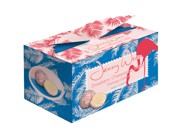 Strawberry Champagne Truffle Wing Box