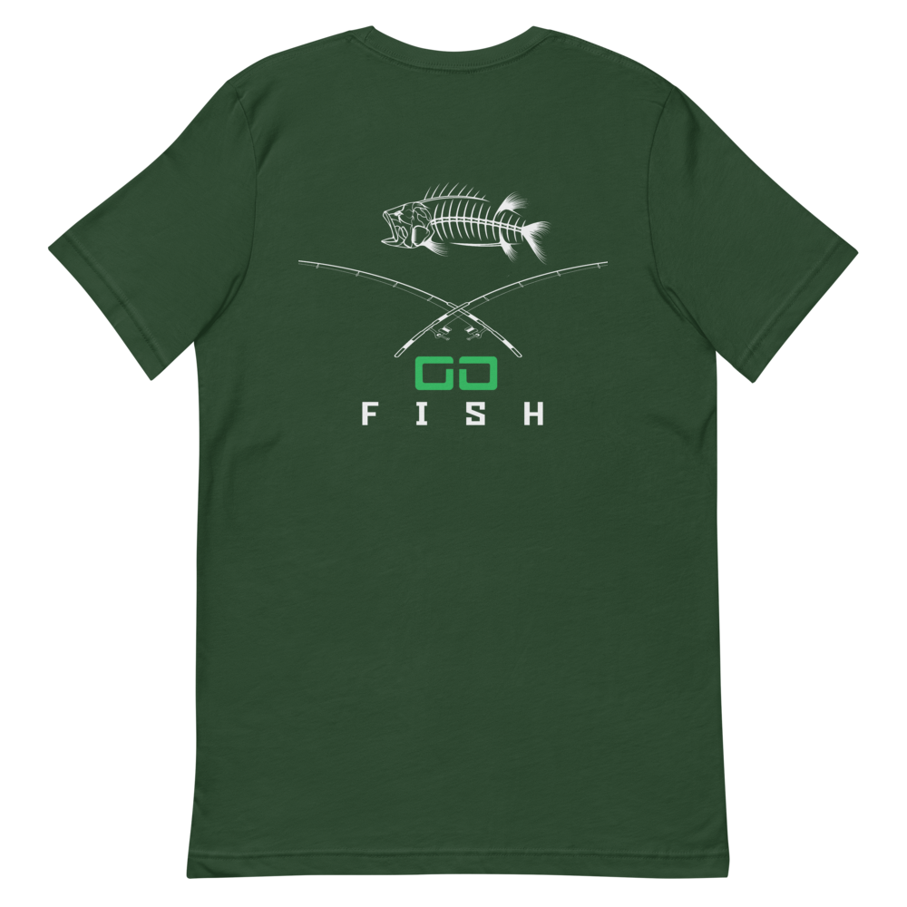 Cross Bones -Fishing T-Shirt