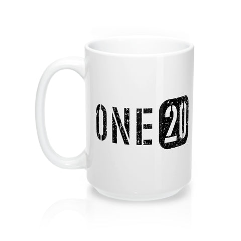 ONE20 Ceramic Mug 15 oz