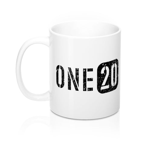 ONE20 Ceramic Mug 11 oz