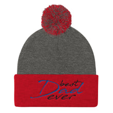 Pom Pom Knit Cap for Dad