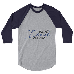 3/4 sleeve raglan shirt For Dad