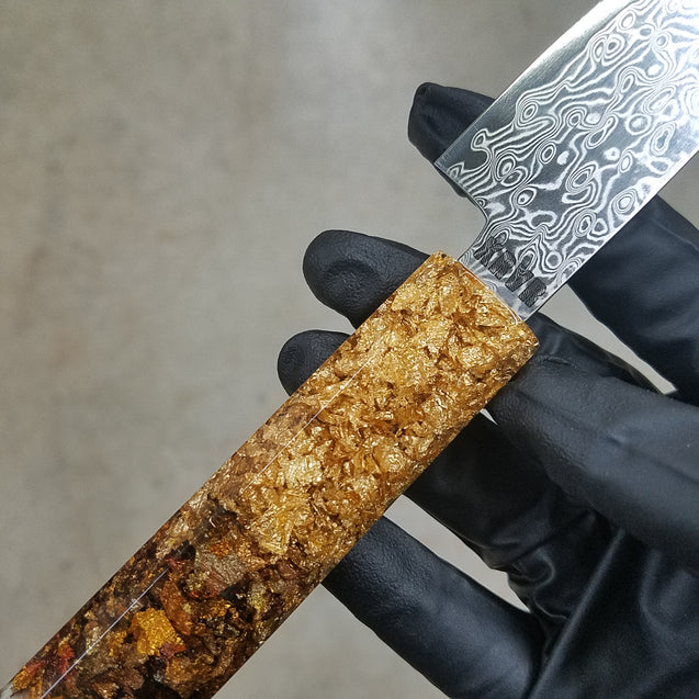 California Dreaming - 6in (150mm) Damascus Petty Culinary Knife