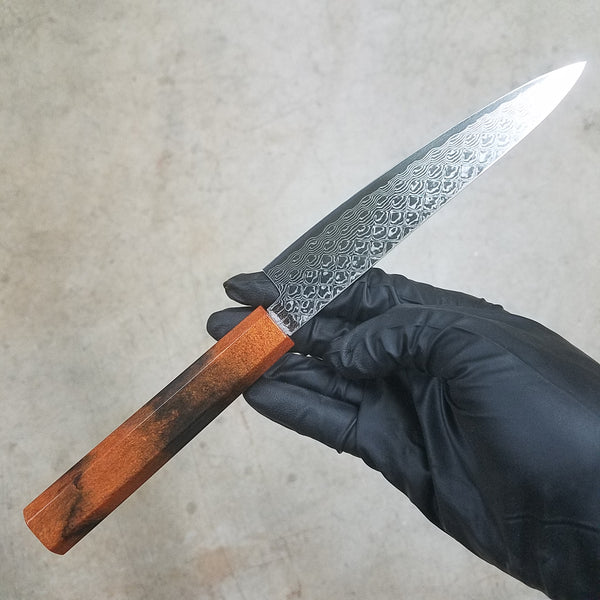 Tiger Petty - 6in (150mm) Damascus Petty Culinary Knife