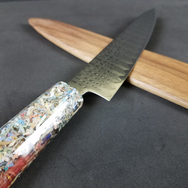 Forex Fiasco - 6in (150mm) Damascus Petty Culinary Knife