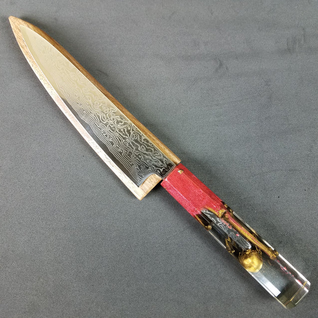 Bleeding Edge - 6in (150mm) Damascus Petty Culinary Knife