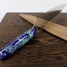 Blue Planet - 10in (254mm) Damascus Gyuto - Raindrop - Smooth Handle