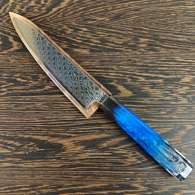 Silverfish - 6in (150mm) Damascus Petty Culinary Knife