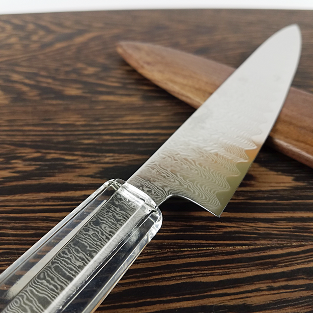 Phantom Grin - 6in (150mm) Damascus Petty Culinary Knife