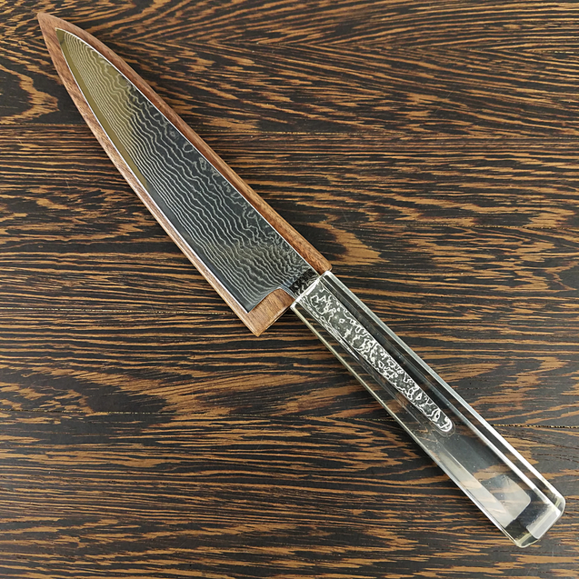 PhantoMime - 6in (150mm) Damascus Petty Culinary Knife