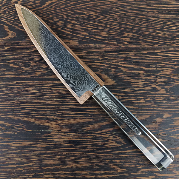 Phantasy Island - 6in (150mm) Damascus Petty Culinary Knife