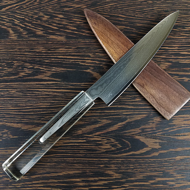 Phantom Menace - 6in (150mm) Damascus Petty Culinary Knife