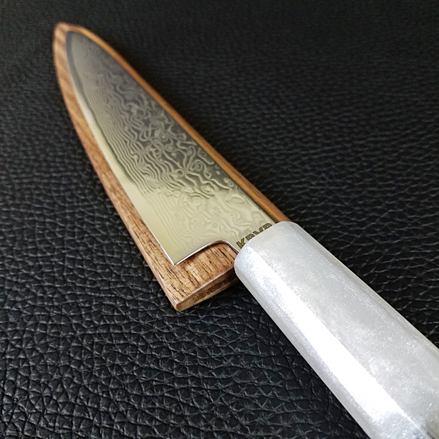 Pearlescence - 6in (150mm) Damascus Petty Culinary Knife