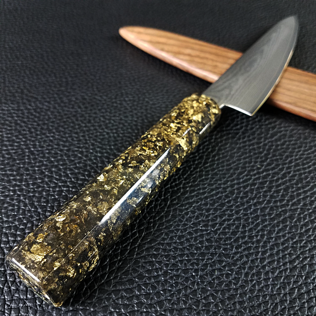 City Slicker - 6in (150mm) Damascus Petty Culinary Knife