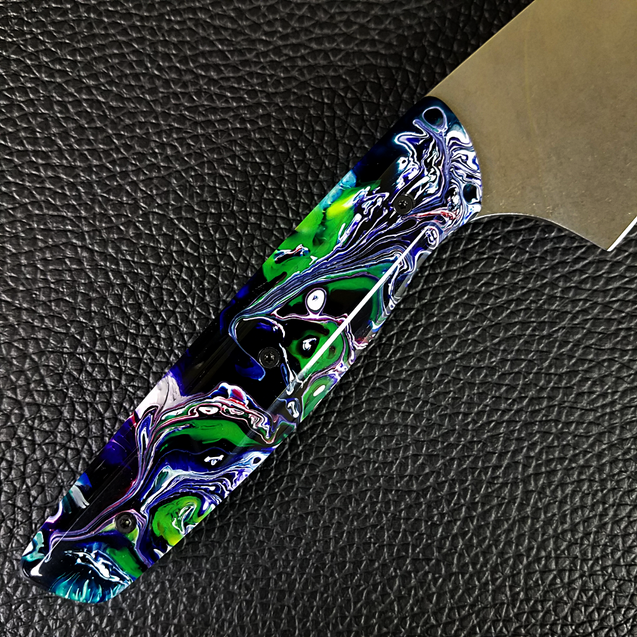 Surreal Dragon - 8in (203mm) Gyuto Chef Knife S35VN Stainless Steel