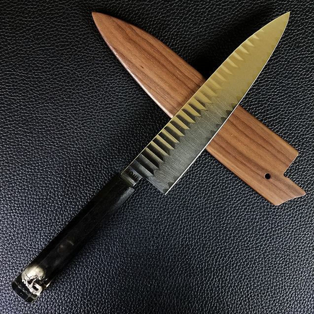 Grim - 210mm (8.25in) Damascus Gyuto Chef Knife