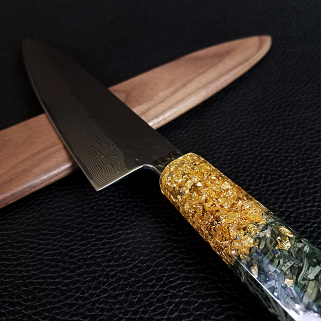 American Dream - 210mm (8.25in) Damascus Gyuto Chef Knife