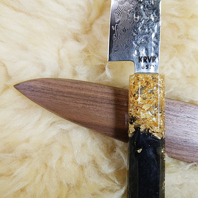 Kingslayer - 6in (150mm) Damascus Petty Culinary Knife