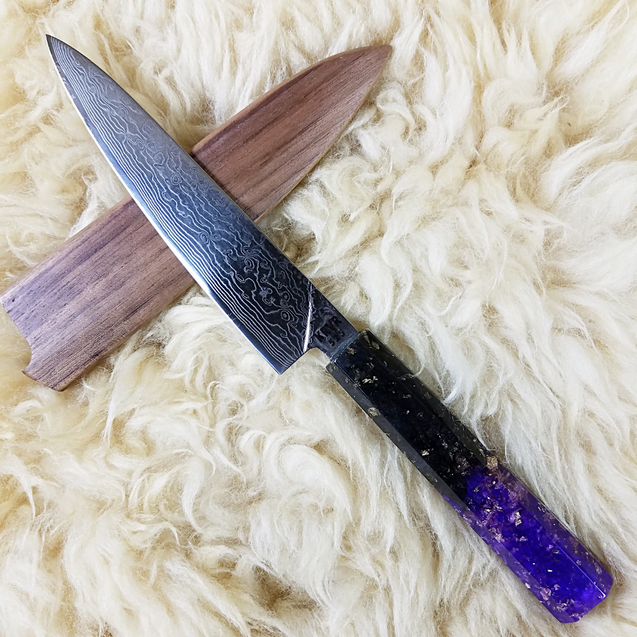Umbreon - 6in (150mm) Damascus Petty Culinary Knife