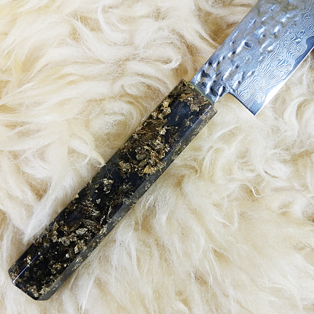 Precious - 6in (150mm) Damascus Petty Culinary Knife