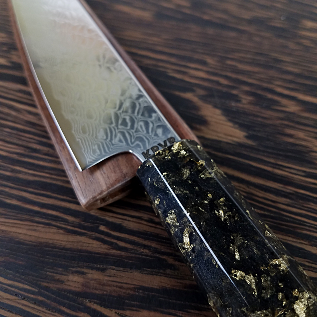 Fugu! - 6in (150mm) Damascus Petty Culinary Knife
