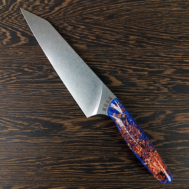 The WanderLovers's Steel - 8in (203mm) Gyuto Chef Knife S35VN Stainless Steel