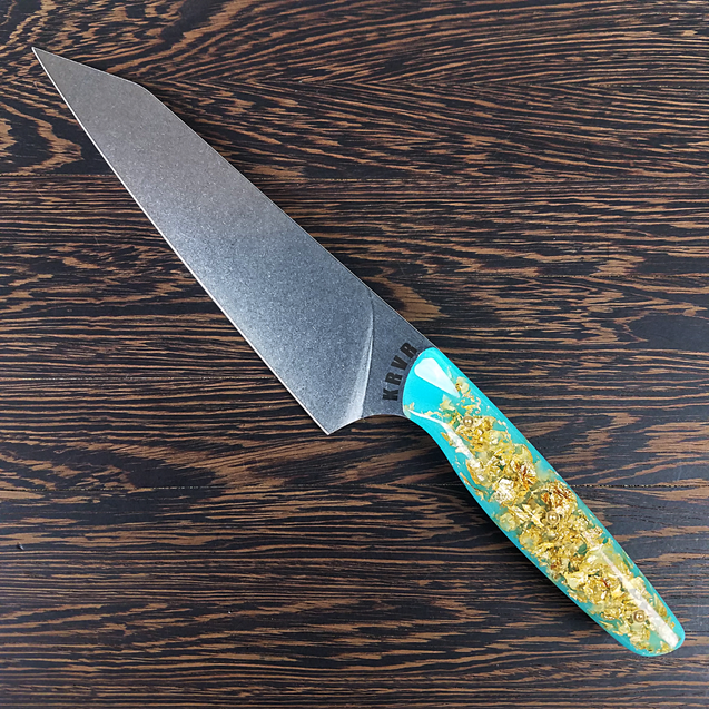 Atlantis - 8in (203mm) Gyuto Chef Knife S35VN Stainless Steel