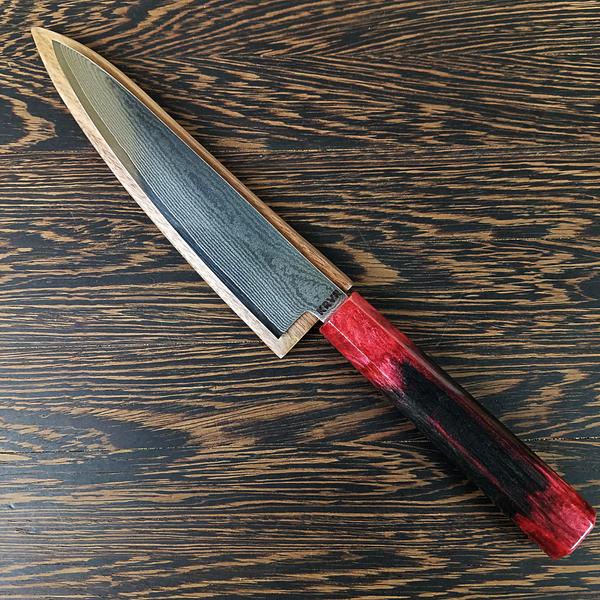 Black Widow - 6in (150mm) Damascus Petty Culinary Knife