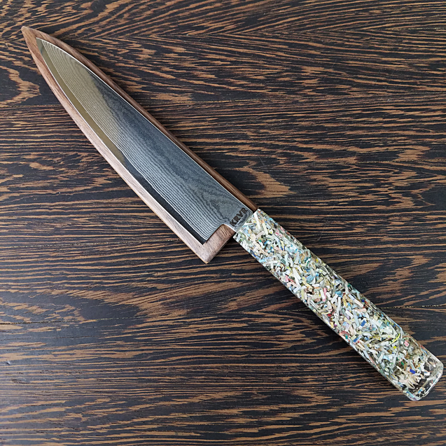 Euro Zone - 6in (150mm) Damascus Petty Culinary Knife