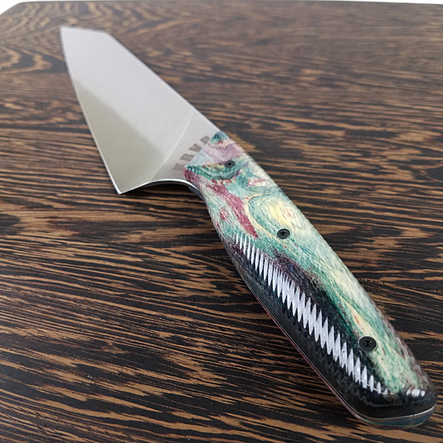 Northern Lights - 8in (203mm) Gyuto Chef Knife S35VN Stainless Steel