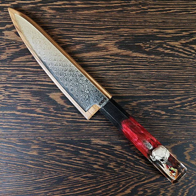 Reaper Supreme - 6in (150mm) Damascus Petty Culinary Knife