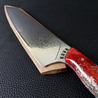 Blood Euro - 10in (254mm) Damascus Gyuto - Raindrop - Wavy Handle