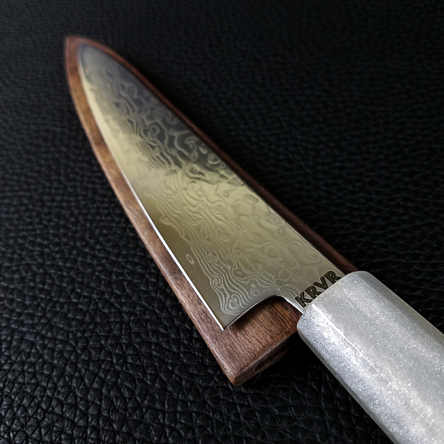 Frosty Rolls - 6in (150mm) Damascus Petty Culinary Knife