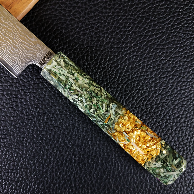Gold Vein - 6in (150mm) Damascus Petty Culinary Knife