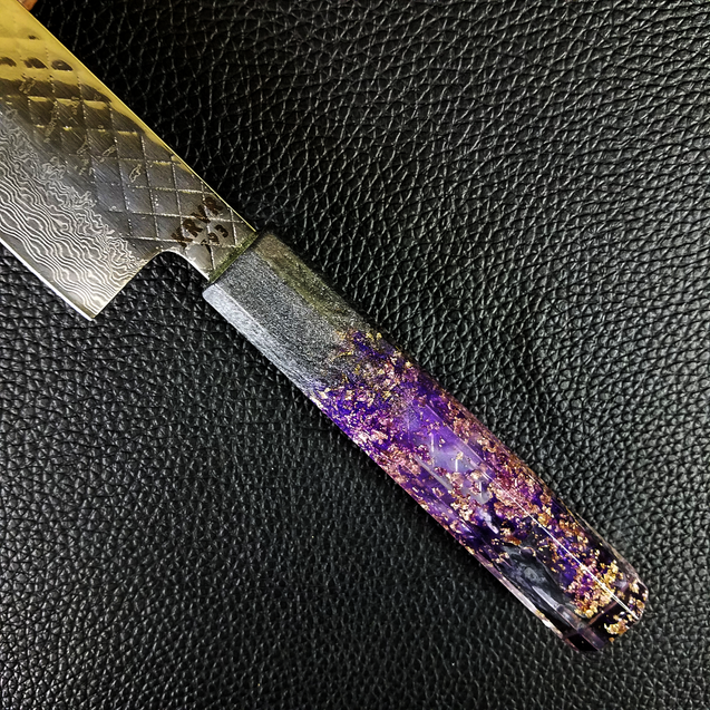 Black Barney - 210mm (8.25in) Damascus Gyuto Chef Knife