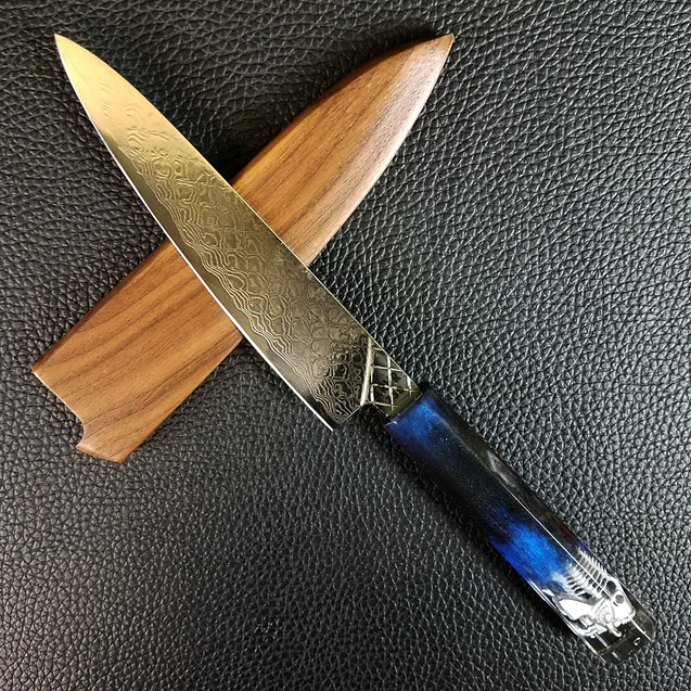 Silverfish II - 6in (150mm) Damascus Petty Culinary Knife