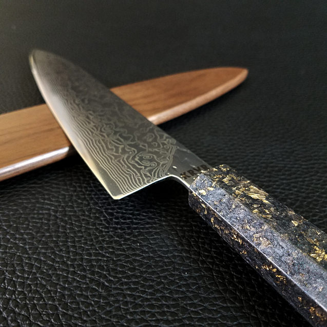 Dead Man's Best - 210mm (8.25in) Damascus Gyuto Chef Knife