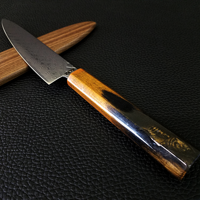 Koi Prisca - 6in (150mm) Damascus Petty Culinary Knife