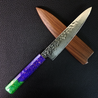 Fleur de Lis - 6in (150mm) Damascus Petty Culinary Knife
