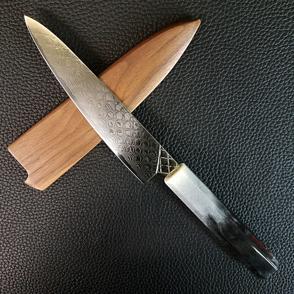 Space Ghostfish - 6in (150mm) Damascus Petty Culinary Knife