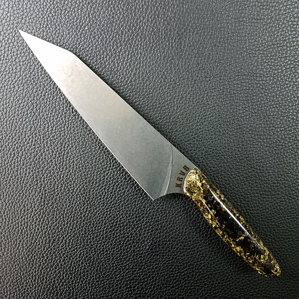 Midnight Gold - 8in (203mm) Gyuto Chef Knife S35VN Stainless Steel