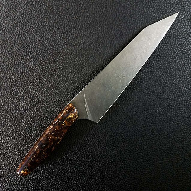Solarium- 8in (203mm) Gyuto Chef Knife S35VN Stainless Steel