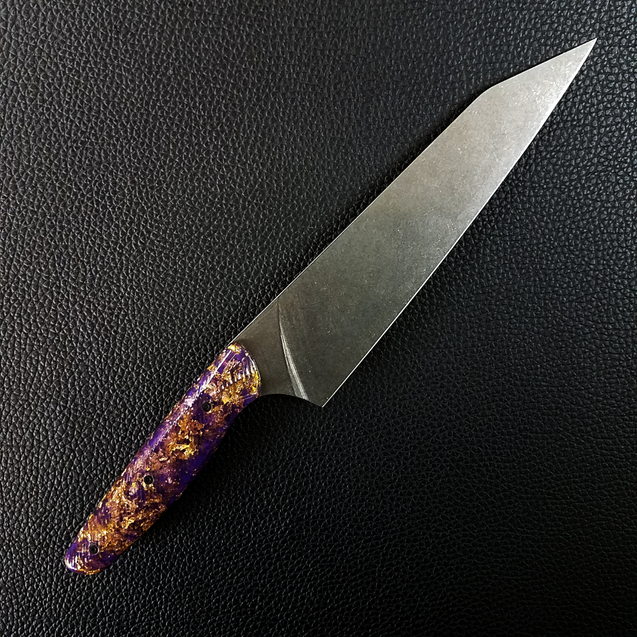 Purple Reign - 8in (203mm) Gyuto Chef Knife S35VN Stainless Steel