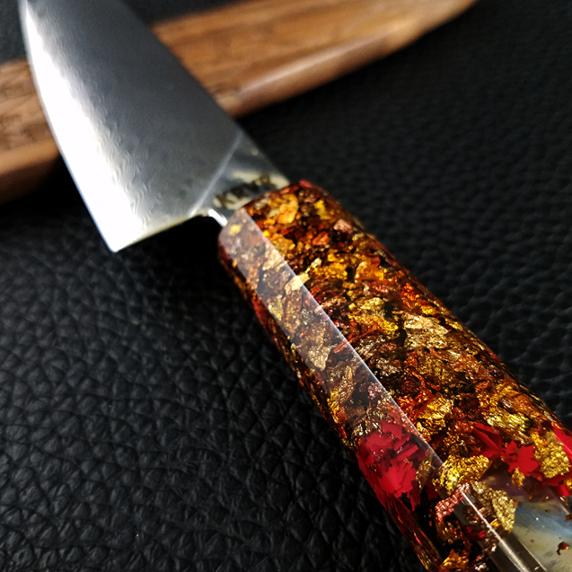 O Canada - 6in (150mm) Damascus Petty Culinary Knife