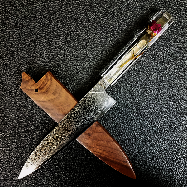 Valentine - 210mm (8.25in) Damascus Gyuto Chef Knife