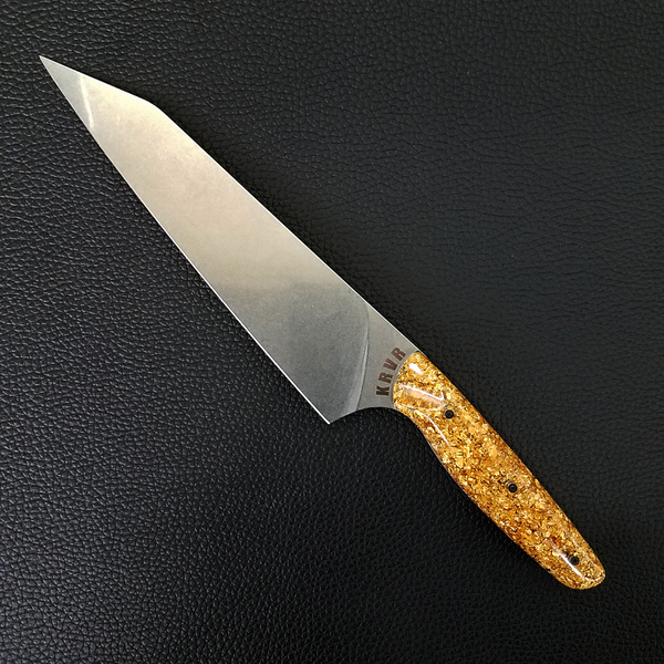 Goldfinger - 8in (203mm) Gyuto Chef Knife S35VN Stainless Steel