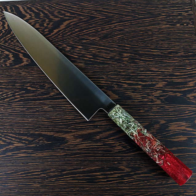 Blood Money - 210mm (8.25in) Gyuto Chef Knife Stainless Steel