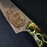 Snail Trails II - 8in Gyuto Chef Knife S35VN Stainless Steel