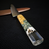 Skeleton King X - 6in (150mm) Damascus Petty Culinary Knife